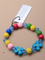 Children's wooden beaded bracelet (Code 2901)